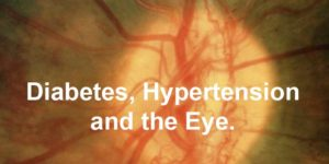 Diabetes, Hypertension and the Eye