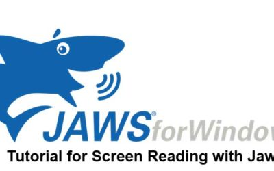 Tutorial for Screen Reading with Jaws